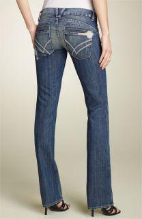 William Rast Savoy Low Rise Straight Leg Stretch Jeans (Jupiter Wash)