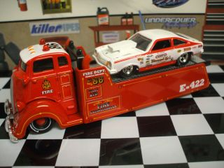 COE CUSTOM HAULER & 74 VEGA DRAG CAR BILL  GRUMPY  JENKINS
