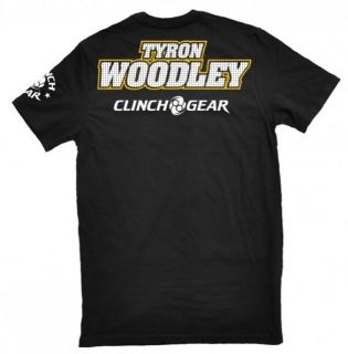Clinch Gear Mens T Shirt Tyron Woodley Signature Tee T Wood MMA Size