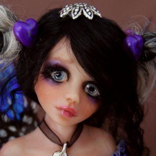 OOAK GOTHIC Fairy Fantasy Selena By Esmeralda Gonzalez ( DOLL TEARS