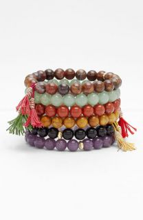 Dogeared Bead Stretch Bracelet
