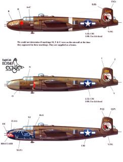EagleCals Decals 1 48 North American B 25J Mitchell Medium Bomber