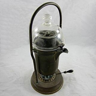 Antique Coffee Espresso Maker Steam Fountain Vienna Incomparable Steam