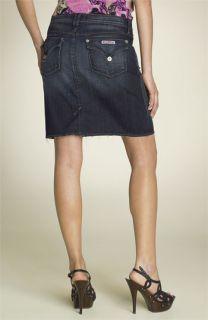 Hudson Jeans Triangle Pocket Stretch Denim Skirt (Bonanza)