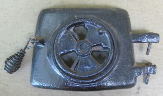 Montgomery Ward Vintage Pot Belly Coal Wood Stove Parts   Upper Door w