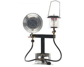 Stansport Propane Heater Lantern Combo with Stand Regulators
