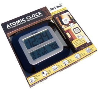 Skyscan Atomic Clock with Outside Temp