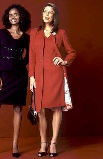 Donna Ricco Tweed Topper & Dress