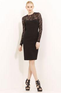 Michael Kors Lace & Crepe Dress