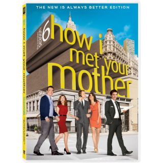 How I Met Your Mother The Complete Season 6 Six DVD 2011 3 Disc Set