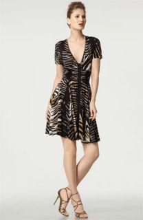 Tracy Reese Zebra Print Dress