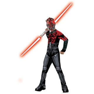 Star Wars Clone Wars Darth Maul Halloween Costume Child Size Medium