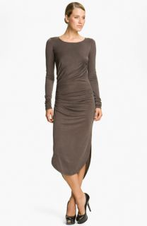 Halston Heritage Draped Jersey Dress
