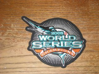 Florida Marlins 2003 World Series Patch 5 1 2 Inches