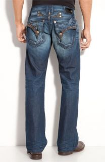 Robins Relaxed Bootcut Jeans (Dark Blue)