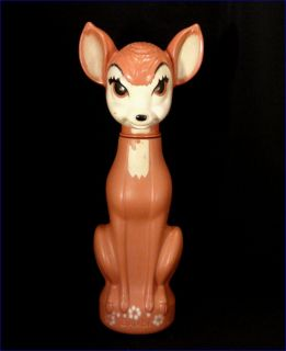 BAMBI Soaky Bubble Bath Decanter Bottle Toy by Colgate Palmolive
