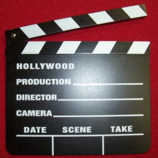 clapper board this realistic clapper is a great gag prop and
