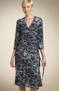 Softwear Wrap Front Jersey Dress