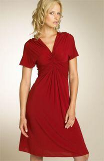 BCBG Max Azria Knot Front Jersey Dress