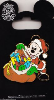 Holiday Pin Collection Set 2 Santa Mickey Mouse with Gifts Pin ONLY