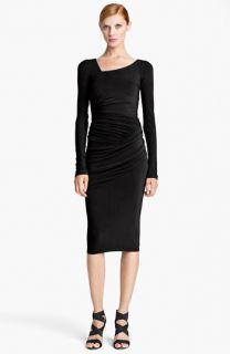 Donna Karan Collection Draped Jersey Dress