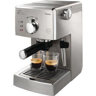 Italian Stainless Steel Espresso Machine Coffee Maker Philips Saeco