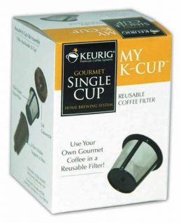 Keurig My K Cup reusable coffee filter, and Charcoal Water Filter
