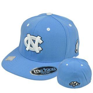 NCAA Top of World The King Flex Fit Hat Cap 2011 CWS North Carolina