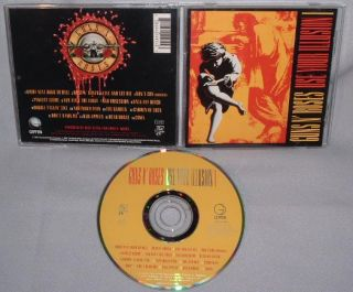 CD Guns Roses Use Your Illusion 1 I and N CH Canada Near Mint
