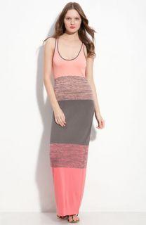 Trina Turk Bahama Mama Colorblock Maxi Tank Dress