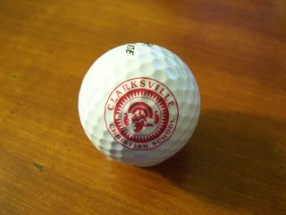 Logo Golf Ball Clarksville Christian School