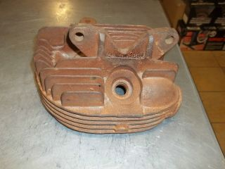 Front Knucklehead Harley Davidson Head Only Late