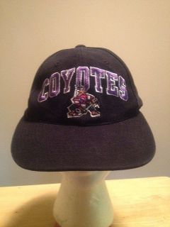 Phoenix Coyotes hockey hat old logo American Needle NHL baseball cap
