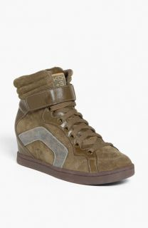 SKECHERS Three Booster Wedge Sneaker (Women)