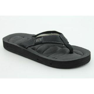 Cobian Draino Jr Youth Kids Boys Size 6 Black Flip Flops Sandals Shoes