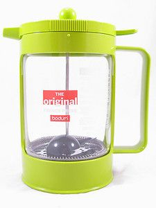 Cup Bean French Press Coffee Maker Lime Green Cold Press Coffee