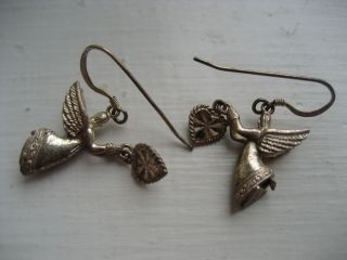 Hills Sterling Silver Angel Earrings Beautiful Gift * Sassy & Classy
