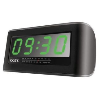 New Coby CR A108 Digital Jumbo Alarm Clock Radio CRA108