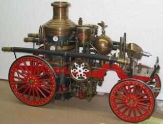 Coles La France Double Pump Fire Engine Live Steam