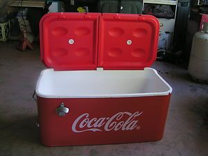 Vintage Coca Cola Cooler Coca Cola Ice Chest