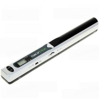 Handyscan Mini Portable Hand Held Color Scanner 600 dpi Bundle 16GB
