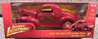 Johnny Lightning 1 24 R54 Strike Big John Mazmanian 1941 Willys Gasser