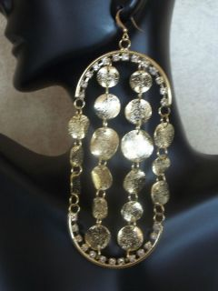 Basketball Wives Love & Hip Hop Crystal & Metal Plate Dangling