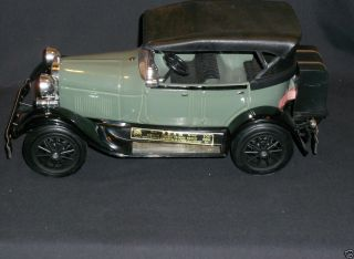 Collectible 1980s Jim Beam Antique Car Decanter 1929 Ford Model A