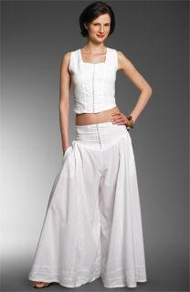 Luna Luz Knit Top & Palazzo Pants Set