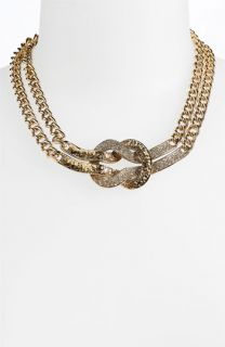 St. John Collection Antique Gold Knot Necklace
