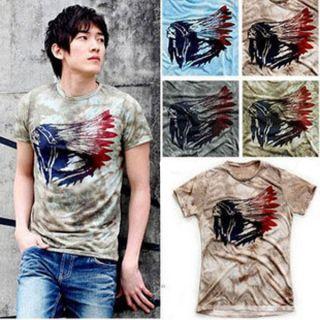 Mens Comfort R Neck T Shirts Tunic Tops Tees Club Shirt MCH0870