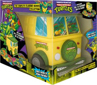 Teenage Mutant Ninja Turtles The Complete Classic Series Collection