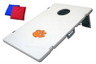 Clemson Tigers NCAA Tailgate Toss 2.0 Bean Bag Cornhole Baggo Game