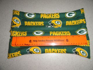 Microwaveable Hot Cold Rice Packs Heat Pad Heat Wrap Green Bay Packers